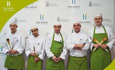 Hecansa forma a un grupo de alumnos belgas en Cocina y Hostelería