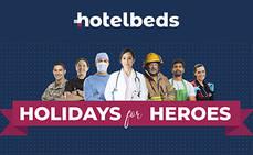 Hotelbeds lanza 'Holidays for Heroes' para los trabajadores
