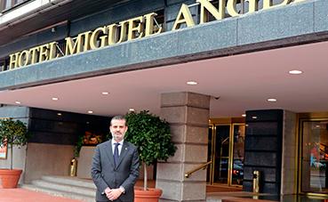 Manuel Murga, nuevo director del Hotel Miguel Angel