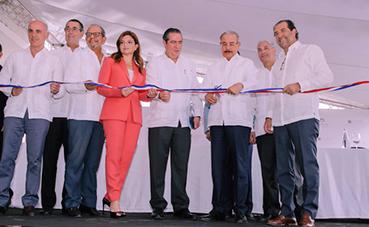El presidente de RD inaugura el último 'resort' de Meliá en Punta Cana