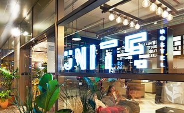 Blanca Beltz ha diseñado el interior de Unite Barcelona