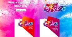 Web Riu Party.