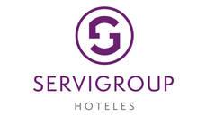 Nuevo logotipo de Hoteles Servigroup.