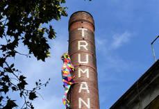 Camaeón en Old Truman Brewery.