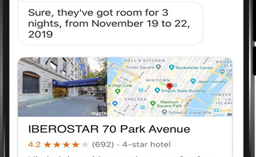 Iberostar se integra en el asistente virtual Google Assistant
