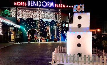 La decoración navideña coge fuerza en el Sector