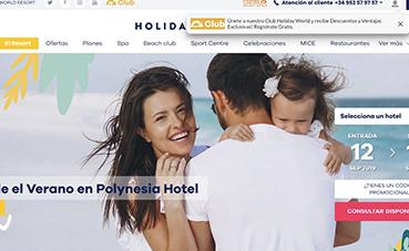 El 'resort' Holiday World estrena página 'web'