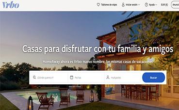 La plataforma HomeAway cambia su denominación en España a Vrbo