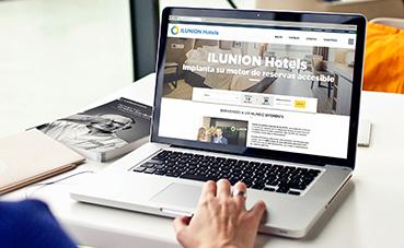 Ilunion Hotels, pionero en implantar un motor de reservas accesible