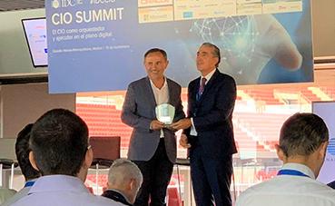 Grupo Piñero, galardonado en los Premios IDC CIO