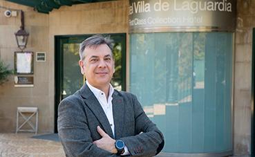 Fernández de Miguel, nuevo director del Sercotel Villa de Laguardia