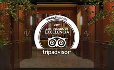 Vincci recibe 27 Certificados de Excelencia TripAdvisor