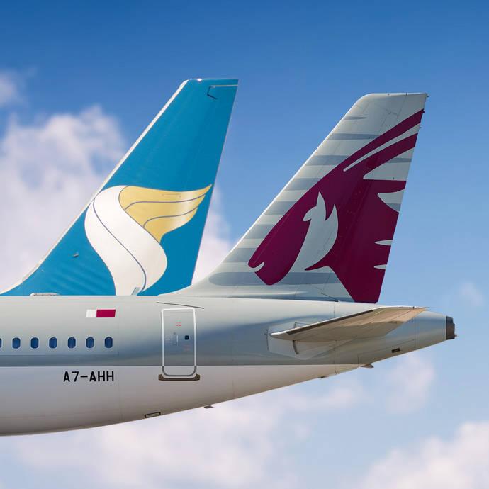 Qatar Airways y Oman amplían el código compartido