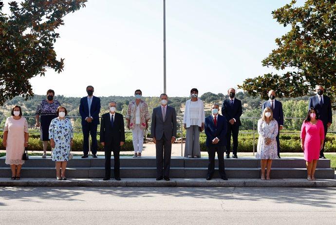 El Rey recibe al Grupo Barceló con motivo de su 90 aniversario