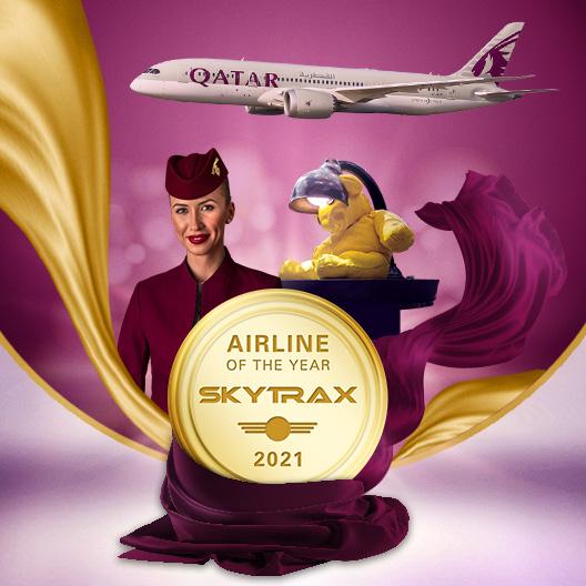 Qatar Airways, 'Aerolínea del Año' por Skytrax por sexta vez