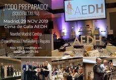 Cena de Gala AEDH.