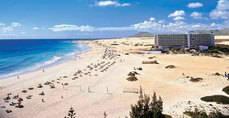 Playas de Corralejo (Fuerteventura).
