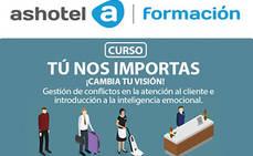 Ashotel lanza el curso 'Gestión de conflictos en la atención al cliente e introducción a la inteligencia emocional'
