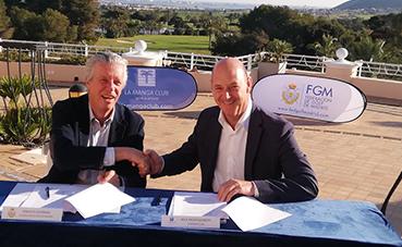 La Federación de Golf de Madrid y La Manga Club anuncian una colaboración