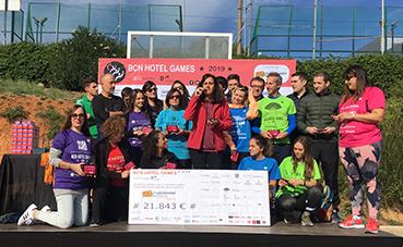 Más de mil trabajadores del Sector en Barcelona participan en una olimpiada solidaria dedicada a la salud mental