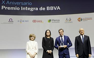 Ilunion Turismo Responsable, premiado por sus 10 años apoyando la inclusión laboral