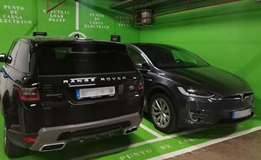 Madrid Marriot Audirorium incorpora dos estaciones de recarga para coches eléctricos