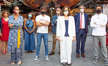 MasterChef Celebrity rueda una acción de promoción de Turismo de Barcelona