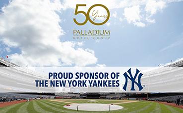 Palladium Hotel Group se convierte en patrocinador de los New York Yankees