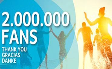 RIU alcanza los dos millones de seguidores en Facebook