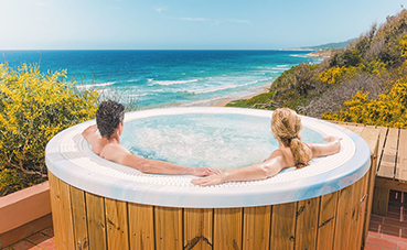 El Hotel Hurricane de Tarifa amplía su 'spa' con los equipos para baños de vapor de Saunas Durán