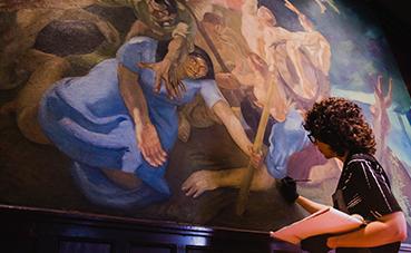 Santa Catalina, a Royal Hideaway Hotel mantiene viva su historia restaurando las obras de arte de sus estancias