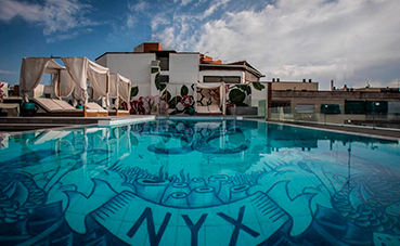 Nyx Hotel Madrid abre su 'rooftop terrace'