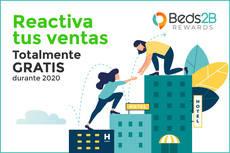 'Reactiva tus ventas', Beds2B Rewards.