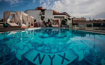 Nyx Hotel Madrid abre una nueva piscina