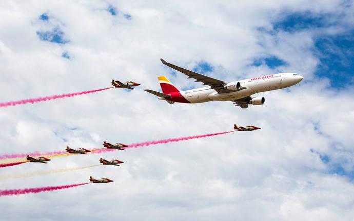 Iberia celebra sus 90 años con cerca de 2.500 invitados