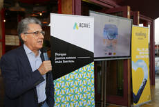 El presidente de ACAVE, Martí Sarrate, interviene en el evento.