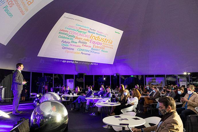 Aevea defiende la vuelta de los eventos para impulsar la recuperación del sector MICE y relacionados
