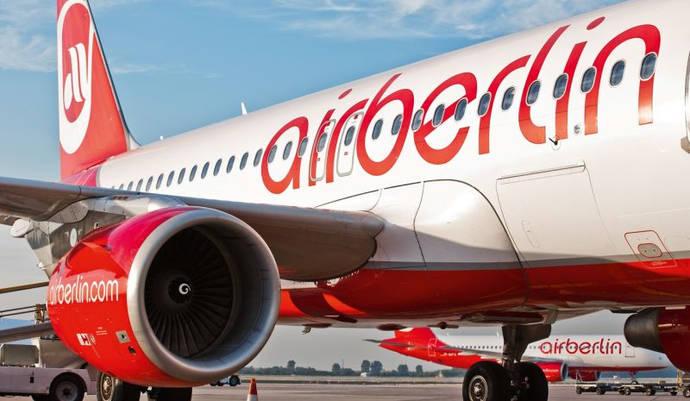 La pérdida neta de airberlin se dispara hasta los 446 millones de euros en 2015