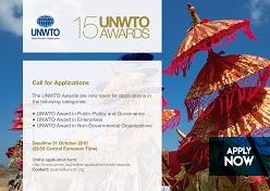 La OMT premia la innovación y la sostenibilidad