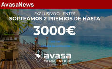Avasa Travel Group regala dos viajes de hasta 3.000 euros