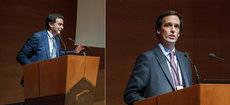 Abel Matutes Prats y José Mª Erhardt Barrenechea, presidente y CEO de Erhardt respectivamente.