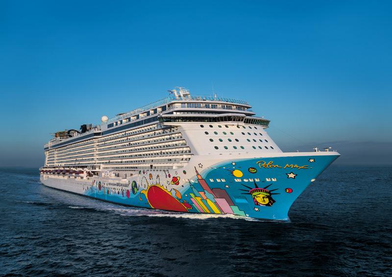 La capacidad de Norwegian Cruise Line crecerá un 40%