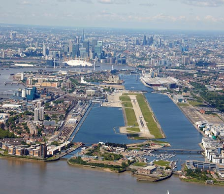London City Airport llega casi a los 4,3 millones de viajeros