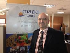 El director de Mapa Tours, Alberto Díaz.