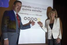 El Hotel Alhambra Palace consigue su quinta estrella