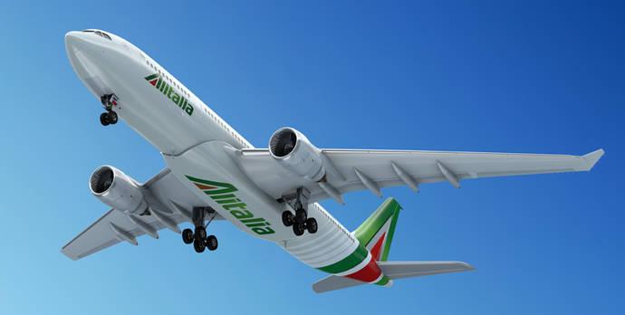 Alitalia reduce sus pérdidas en 381 millones en 2015