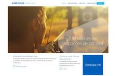 La campaña incluye el lanzamiento de la web www.amadeushotelsplus.es.