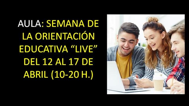 Activo el registro para participar en AULA Live Connect
