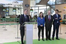 En la inauguración de la ruta estuvieron los presidentes de Canarias y Baleares.