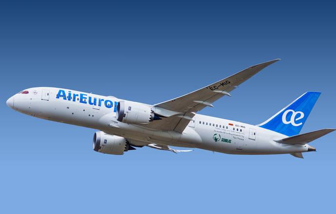 Air Europa supera la barrera de los 11 millones de viajeros